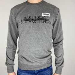 Pull Gris Homme