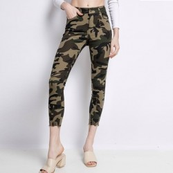Jeans Camouflage Femme