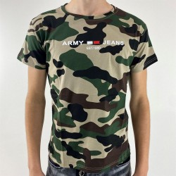 Tee Shirt Camouflage Militaire